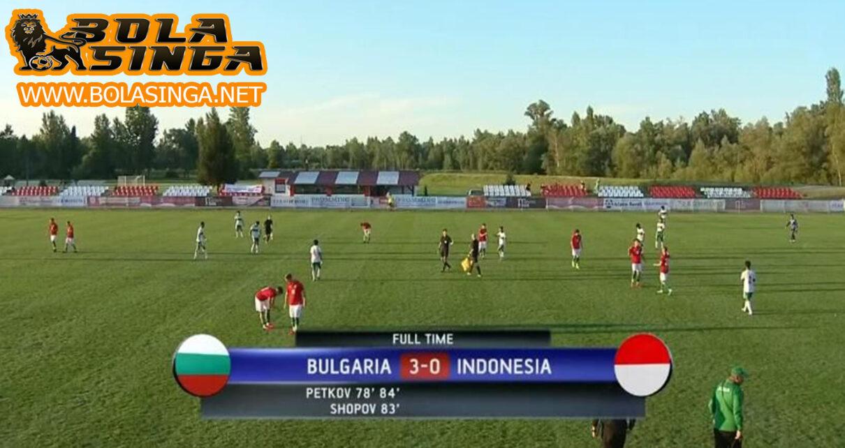 Hasil Pertandingan Bulgaria U-19 vs Timnas Indonesia U-19 : 3-0