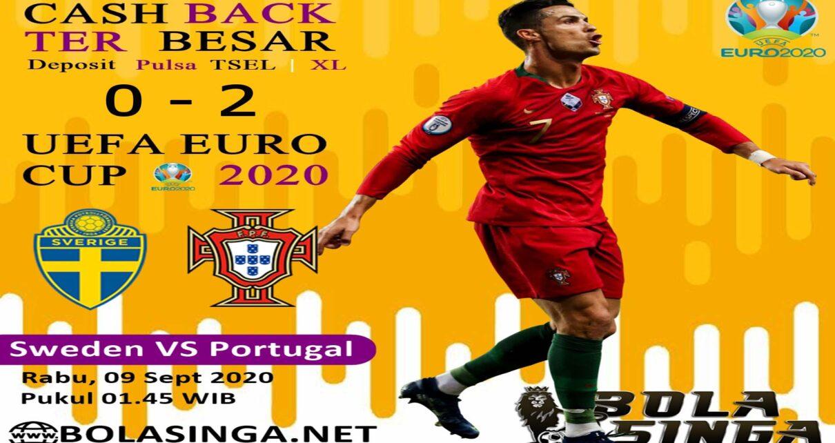 Hasil Pertandingan Swedia vs Portugal: Skor 0-2