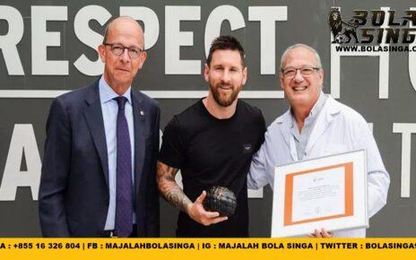 Lionel Messi Jadi Pemain Kesembilan Argentina di M.City