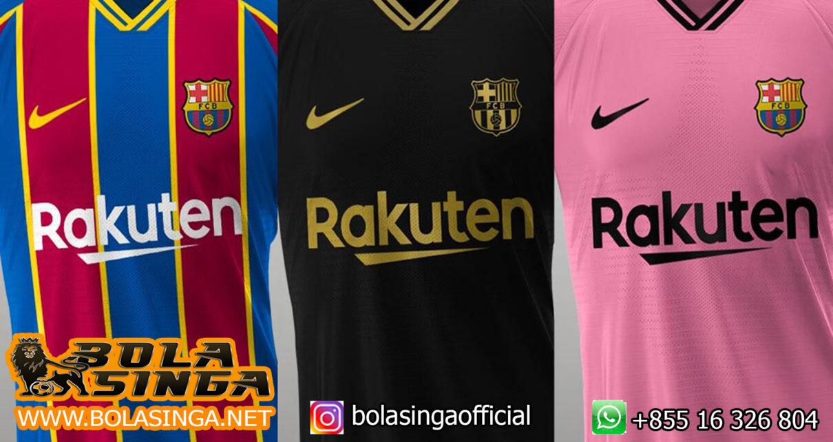 Barcelona Rilis Jersey Ketiga Musim 2021