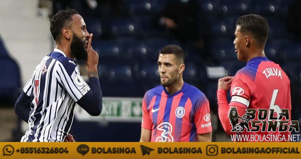 Hasil Pertandingan West Brom vs Chelsea: Skor 3-3