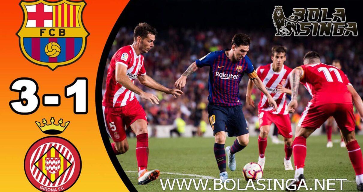 Hasil Pertandingan Barcelona vs Girona: Skor 3-1