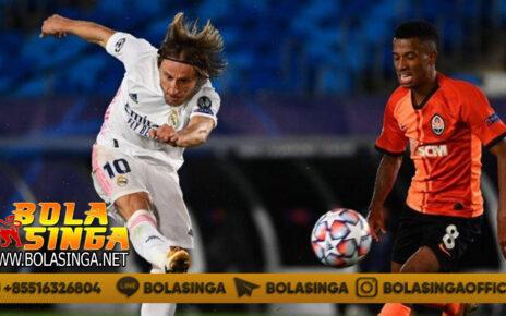 Hasil Pertandingan Real Madrid vs Shakhtar Donetsk: Skor 2-3