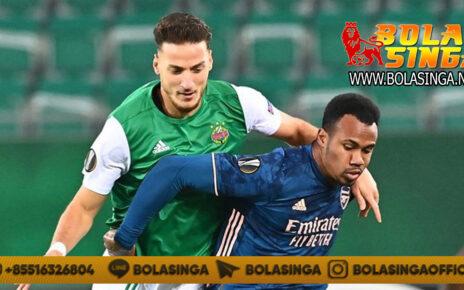 Hasil Pertandingan Rapid Vienna vs Arsenal: Skor 1-2