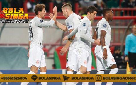 Hasil Pertandingan Lokomotiv Moscow vs Bayern Munchen: Skor 1-2