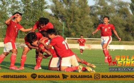 Babak Pertama, Makedonia Utara Tahan Imbang Timnas Indonesia U-19