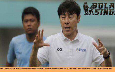 Timnas Indonesia U-19 Menang Besar, Shin Tae-yong Bangga
