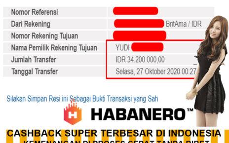 INFO KEMENANGAN SLOT GAME DI BOLA SINGA 27 OKTOBER 2020