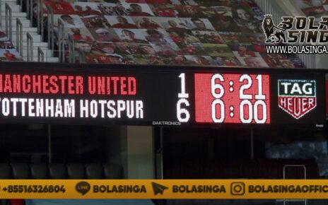 Di Balik Kekalahan 1-6, Pemain Manchester United Siapkan Rencana Jahat pada Erik Lamela