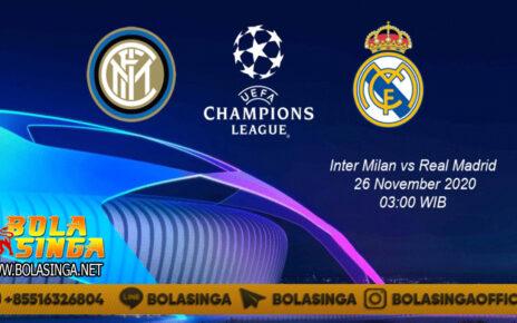Prediksi Inter Milan vs Real Madrid 26 November 2020