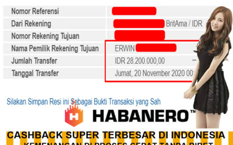 INFO KEMENANGAN SLOT GAME DI BOLA SINGA 20 NOVEMBER 2020