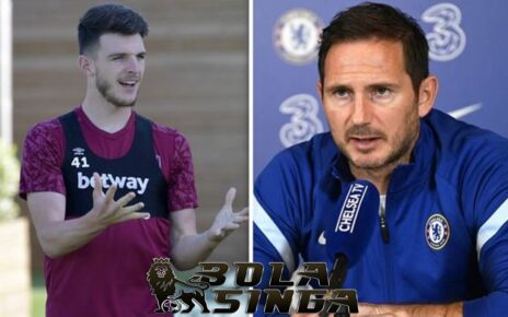 Chelsea Menginginkan Pemain Muda Declan Rice