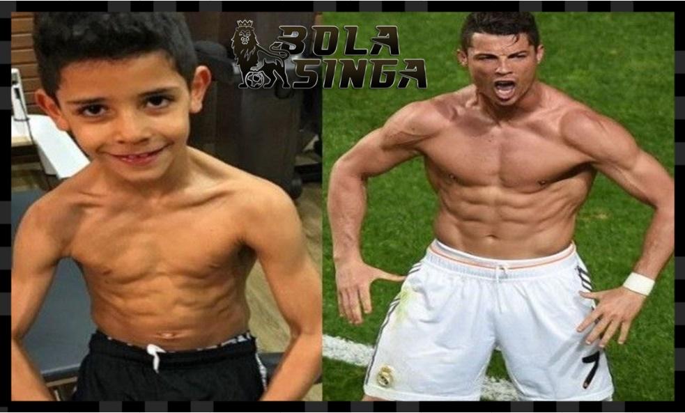 Cristiano Ronaldo Percaya Anaknya akan Menjadi Pemain Dunia
