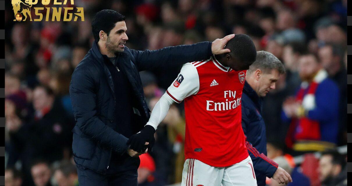 Mikel Arteta Membantu Nicolas Pepe Sukses di Arsenal
