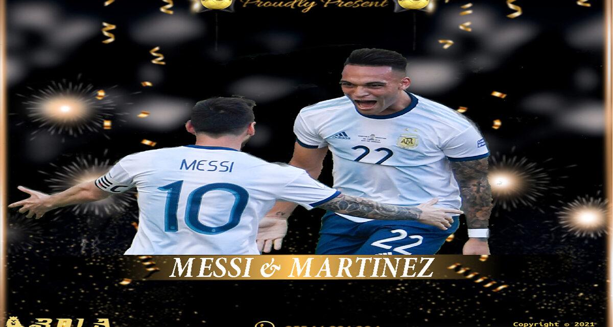 Lautaro Martinez Kagum Bermain dengan Messi
