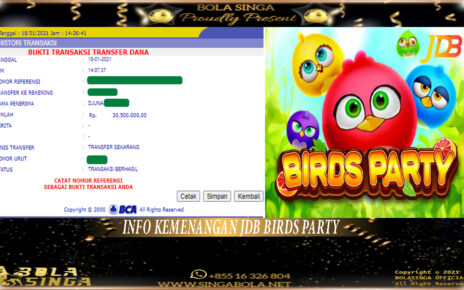 Pemenang Game Slot JDB 18 Januari 2021