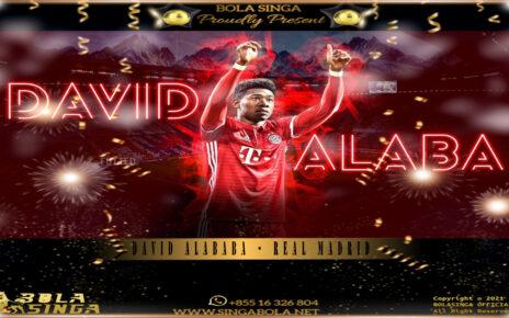 David Alaba Bergabung dengan Real Madrid