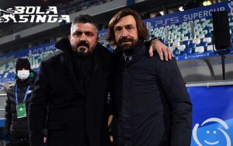 Napoli Vs Juventus - Andrea Pirlo: Simpati Saya Untuk Gennaro Gattuso