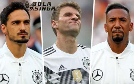 Toni Kross Pertanyakan Absennya Jerome Boateng, Thomas Muller & Mats Hummels Dari Skuad Jerman
