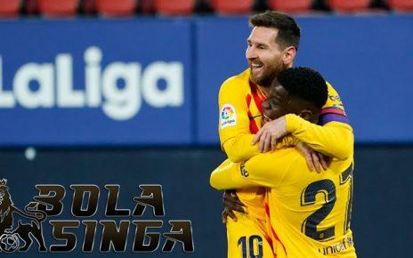 Daftar Top Skor Liga Spanyol: Lionel Messi Belum Tergeser di Posisi Teratas