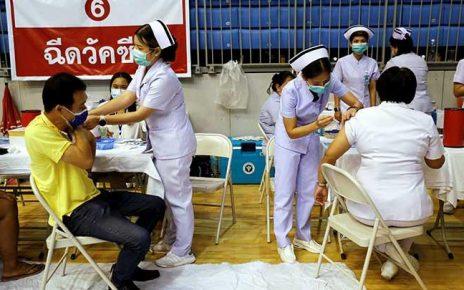 Distrik di Thailand Gelar Vaksinasi COVID-19 Berhadiah Sapi