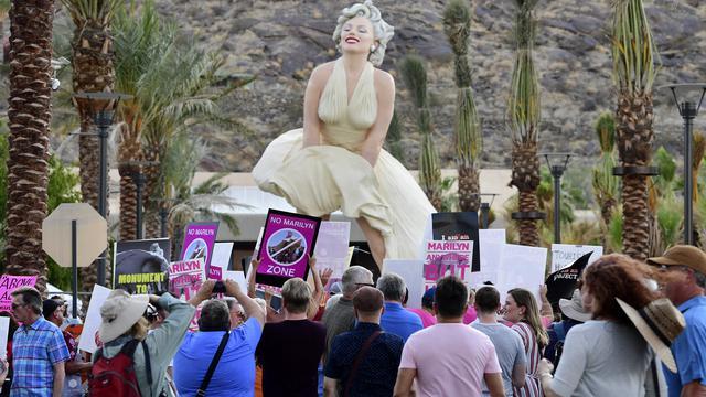 Kembalinya Patung Seksis Marilyn Monroe yang Tuai Kecaman
