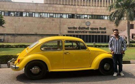 Kreatif Pemuda Ini Sulap VW Kodok Klasik Jadi Mobil Listrik