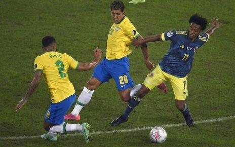 Hasil Copa America 2021 : Dramatis, Brasil Kalahkan Kolombia