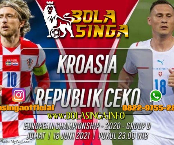 Prediksi Euro: Kroasia vs Republik Ceko 18 Juni 2021