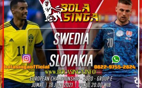 Prediksi Euro: Swedia vs Slovakia 18 Juni 2021