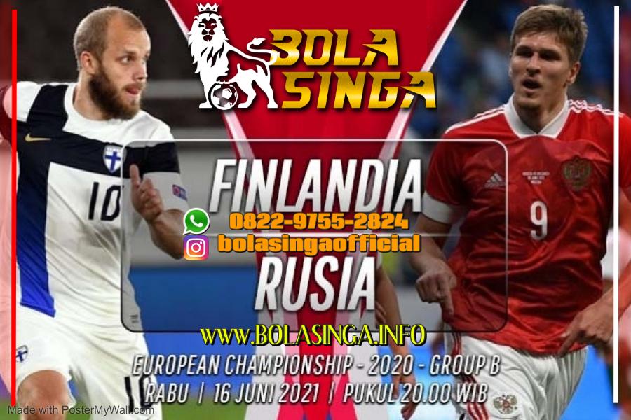 Prediksi Euro: Finlandia vs Rusia 16 Juni 2021