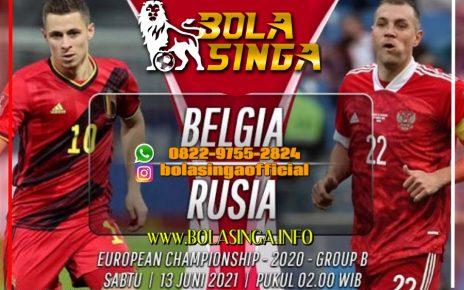 Prediksi Euro: Belgia vs Rusia 13 Juni 2021