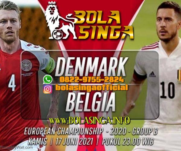 Prediksi Euro: Denmark vs Belgia 17 Juni 2021