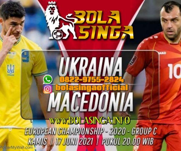 Prediksi Euro: Ukraina vs Makedonia Utara 17 Juni 2021